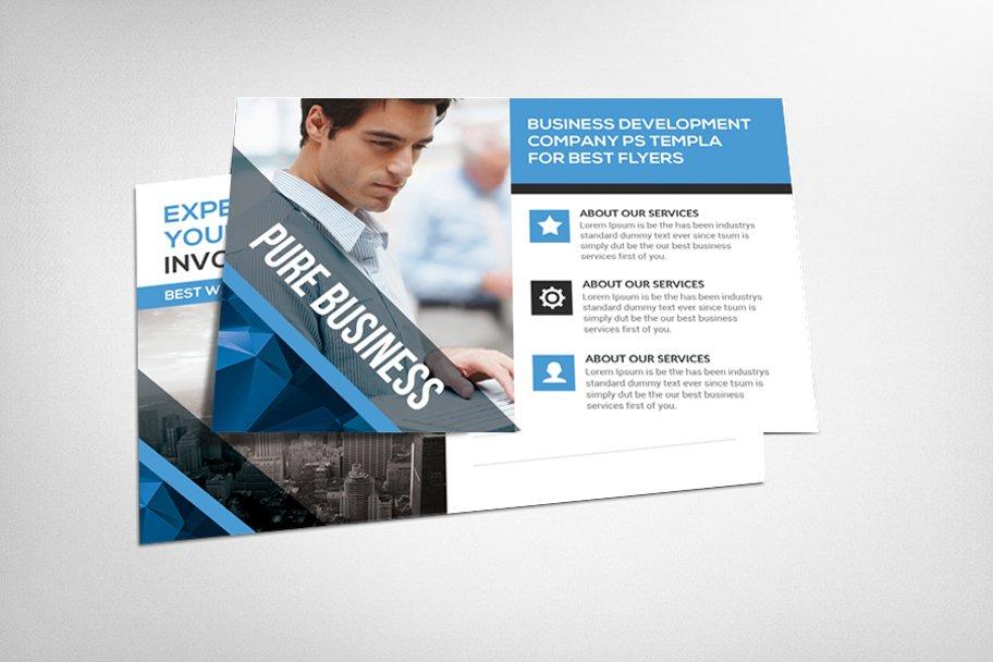 Business Postcard Psd Template ~ Card Templates ~ Creative Market