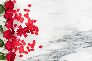 Hearts and Roses for Holiday Love