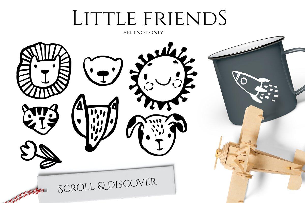 Scandinavian ink design creator in Illustrations - product preview 1