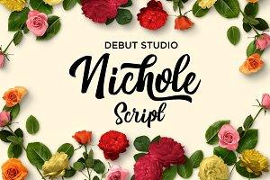 Nichole Script (30% OFF)