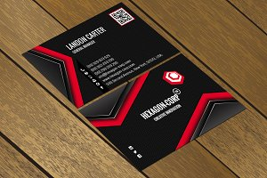 CT040 Corporate business card