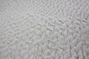 sand relief on a beach