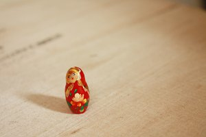 Small Matryoshka Nesting Doll