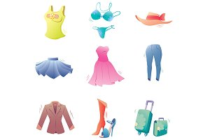 Fashion Clothes Set