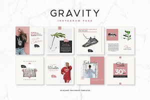 Gravity Instagram Pack