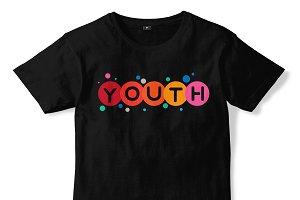 YOUTH T-shirt Design 08