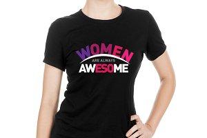 WOMEN's T-Shirt Design 01