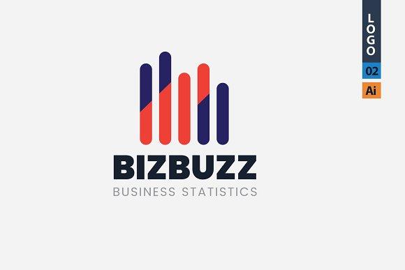 Business Analytics Logo Design 02