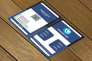 CT043 Corporate business card