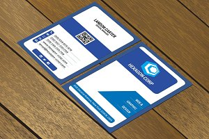 CT044 Corporate business card
