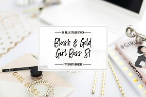 Blush & Gold Photo Bundle Series 1