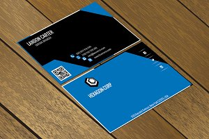 CT045 Corporate business card