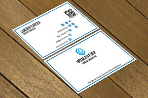 CT047 Corporate business card