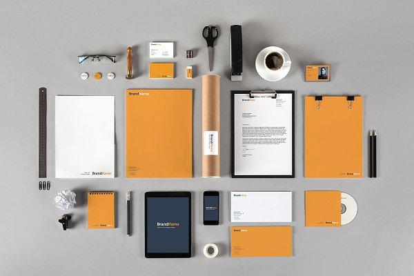 Branding identity MockUps + Templat…
