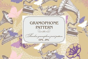 Gramophone pattern