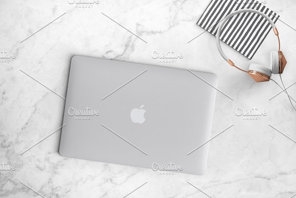 Macbook styled stock photo 26-0018 in Mobile & Web Mockups