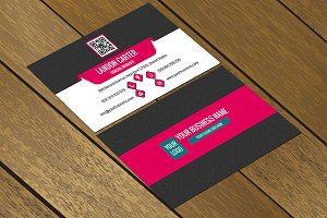 CT050 Corporate business card