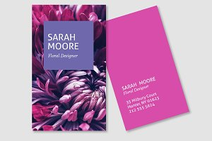 Business Card - Sarah