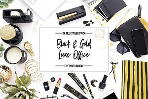 Black & Gold Luxe Stock Bundle S1