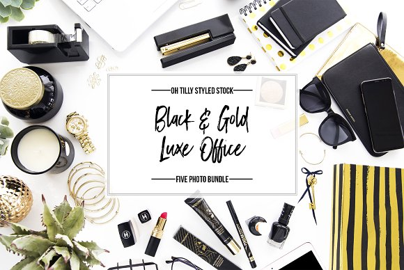 Black Gold Luxe Stock Bundle S1
