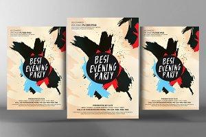Best Evening Party Flyer