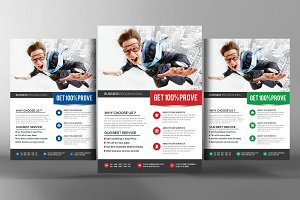 Business Flyer Corporate Progress