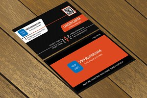 CT053 Corporate business card
