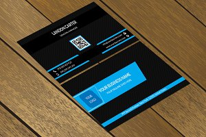CT054 Corporate business card