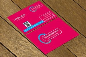 CT056 Corporate business card