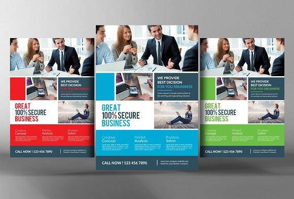 Modern Indesign Business Flyer