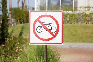 Cycling Safety Signs