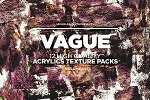 Vague III: 12 Acrylics Textures