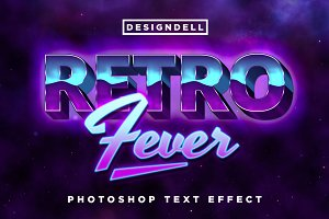 Retro Fever Photoshop Effect