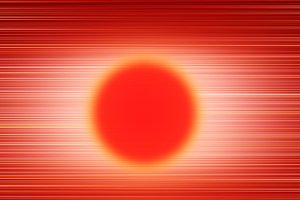 Abstract sun disc illustration background