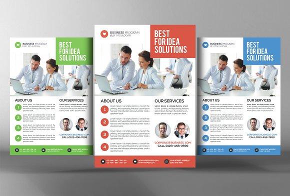 employment agency flyer template flyer templates creative market