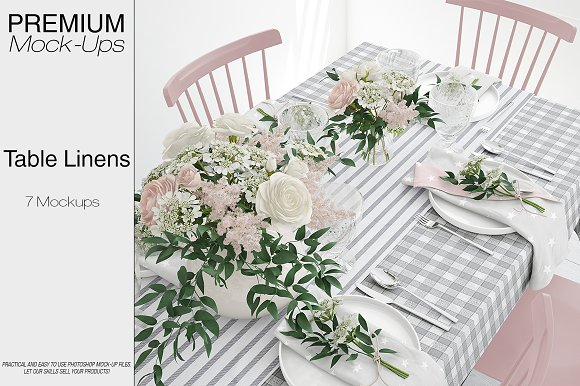 Download Tablecloth, Runner & Napkins