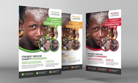 Kids Charity Flyer Template Flyer Templates Creative Market