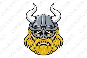Viking Warrior Sports Mascot