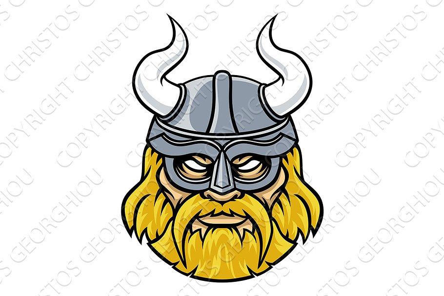 Viking Warrior Sports Mascot