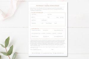 Photography Payment Plan Form