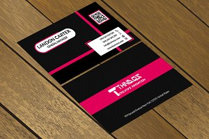 CT057 Corporate business card
