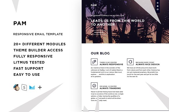Pam Email Template Builder