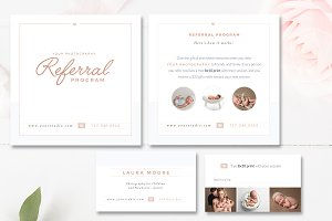 Photo Referral Card Templates