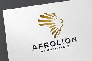 African Lion Logo Template