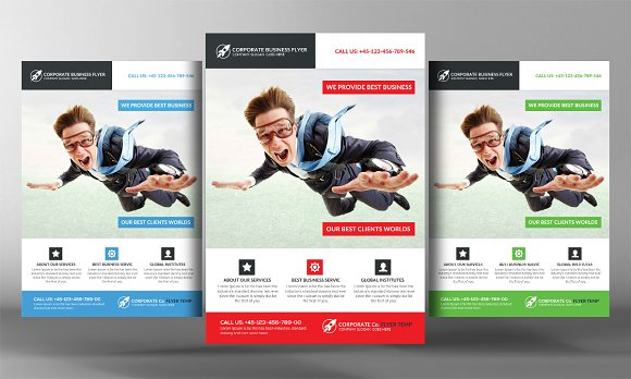 Business Flyer Format