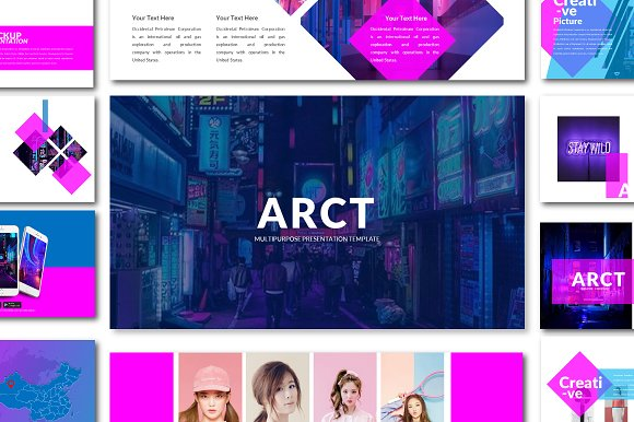 Multipurpose Powerpoint Pre-Graphicriver中文最全的素材分享平台