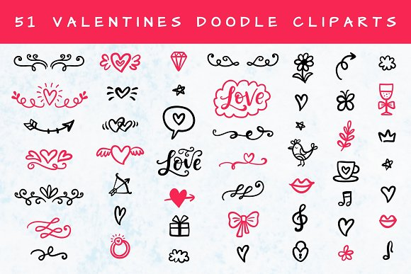 Valentine's Day Lettering in Objects - product preview 6