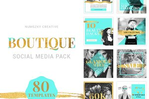 Boutique Social Media Pack