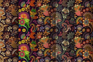 Floral Indian Patterns