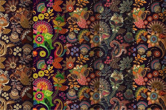 Floral Indian Patterns